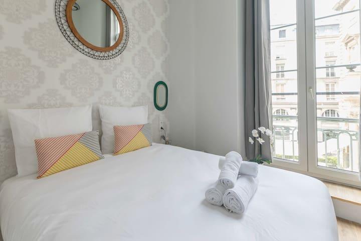 Opéra - Vendôme 17 : appartement cosy pour 4