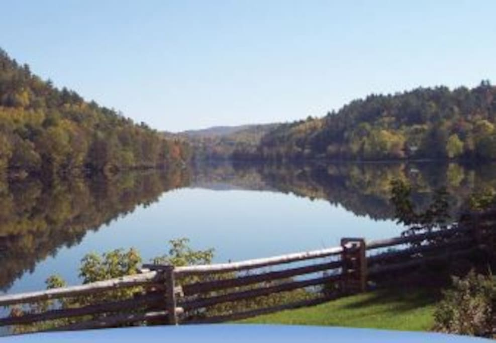 Just across the street is Peace Park with public access to the Gatineau River. And this is the view!