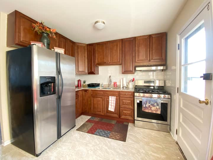 Crystal Full Kitchen Free Parking 30 Mins-Airport