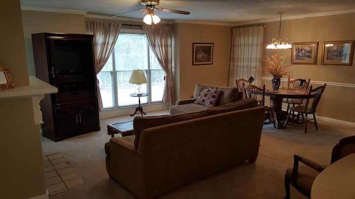 Private Full Featured Two-Bedroom Condo - Nice!