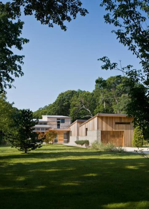 Architect Owned Modern Green Home
