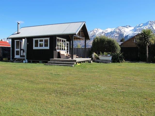 Shangri-La  A Stylish Rustic Cabin + Glamping Tent