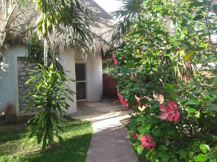 Tulum villa coraz n aptos en complejo residencial en for Abraham mateo el jardin prohibido