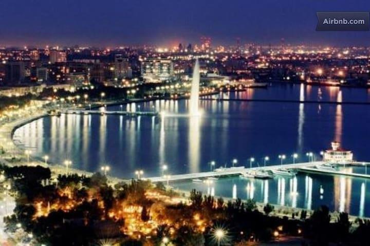 Уютная квартира в солнечным Баку - Baku - Departamento