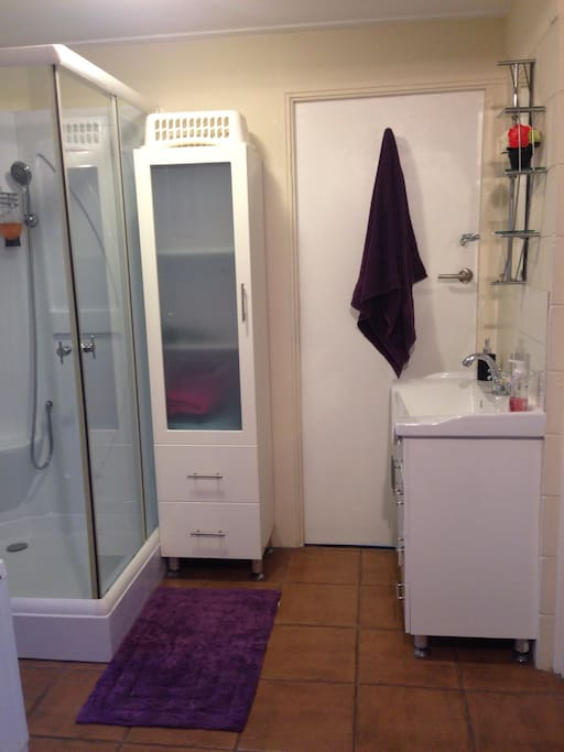 Own bathroom.