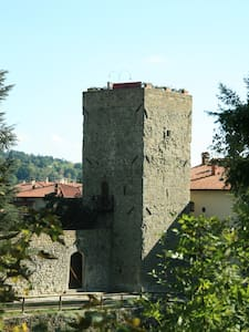 MEDIEVAL CASTLE LUNGARNO - Pratovecchio - Villa