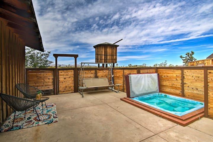 New Cottage w/ Hot Tub & Pool - By Joshua Tree !