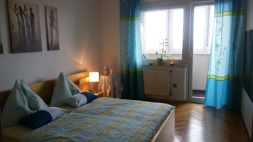 Apt. with a view over Linz (85sqm) - Linz - Daire