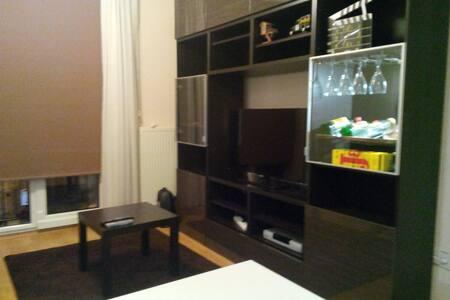 Kapalı otoparklı, havuzlu, 7/24 güvenlikli daire - Stambuł - Apartament