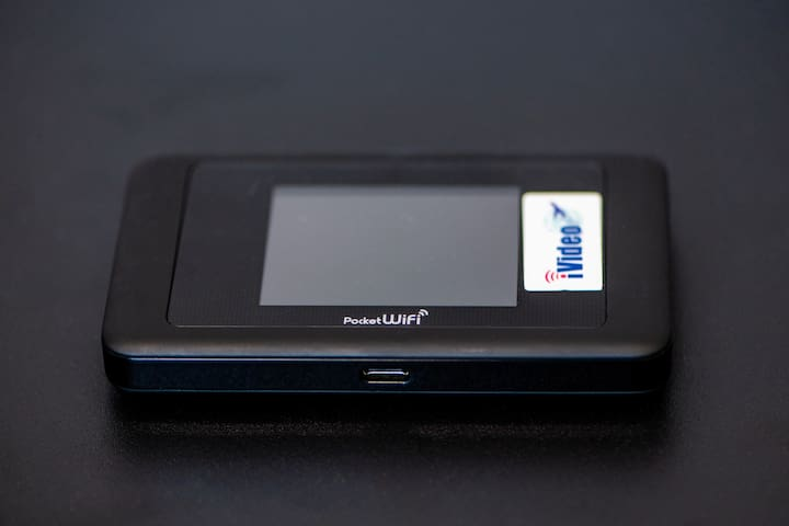 Free use of pocket mobile wifi during your stay. Get connected as soon as you arrived.