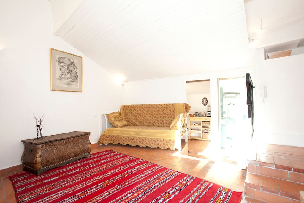 Cozy studio of 30m2 apartments for rent in arles for Living room 10m2