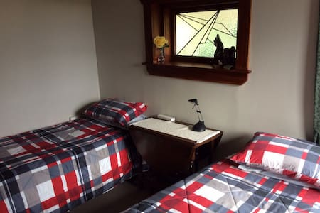 Farm House Bedroom - Clean And Tidy - Otorohanga - Casa