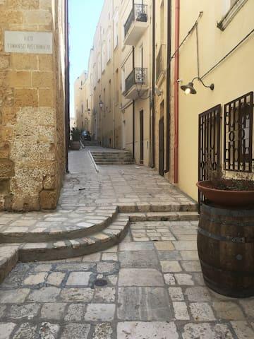 Casa in centro storico con Wi-Fi