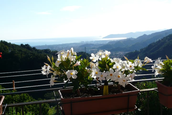Alex's house with breath-taking view. - Ca' di Cecco