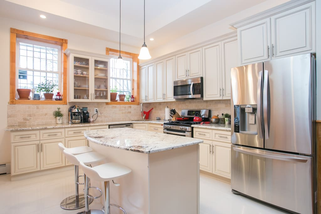 Fantastically well-equipped kitchen