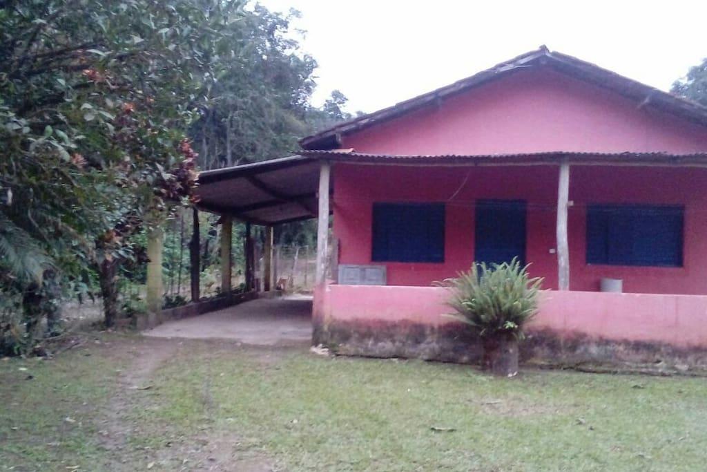 frente da chácara