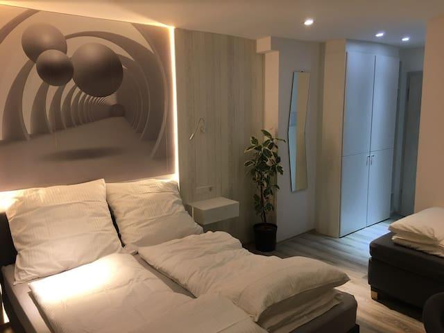 Messe-Hotelzimmer/Einzimmerappartement Zimmer 201