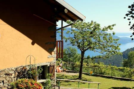 tranquillo chalet vista lago - Trarego Viggiona