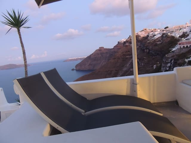 Suite with Caldera view rooftop terrace