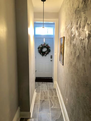 Front hallway exiting.