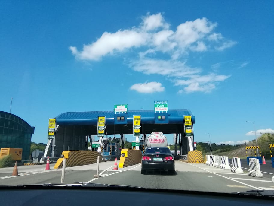 SCTEX-SBMA Entry Exit Tollway