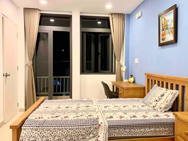Misa's room 10 with balcony-LeDucTho street-GoVap