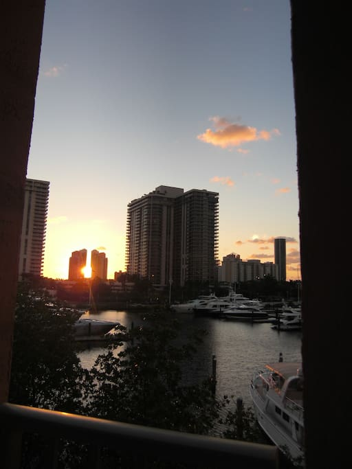 Morning sun from Balcony