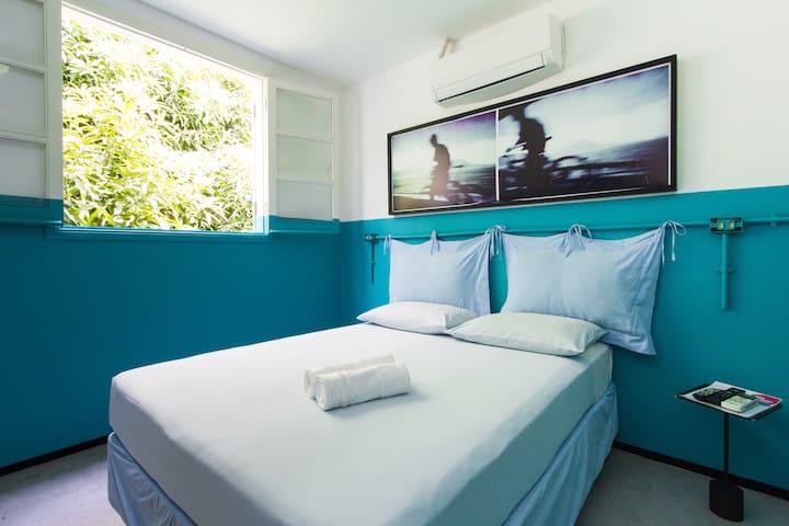 Confortable Suite at Contemporâneo Hostel - Rio de Janeiro - Bed & Breakfast