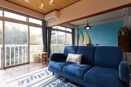 2 Bedroom Apt nrKatase-EnoshimaSTA Sea&Beach WiFi - Fujisawa