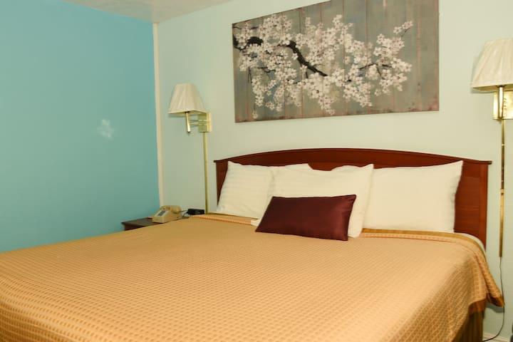Single Queen Bed Room