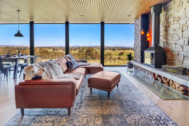 A View to a Hill - BullerRoo - New Luxury Farmstay