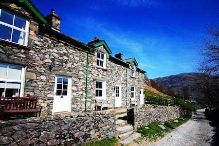 Helvellyn Cottage No 1 - Former Miners Cottage with superb garden. (Per-Friendly)