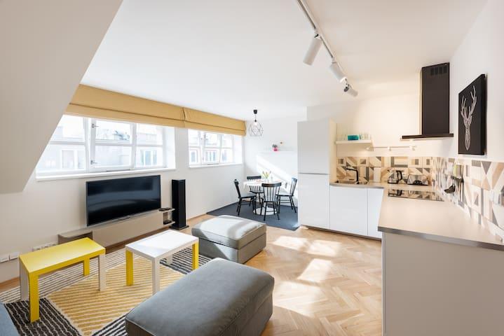 Cozy rooftop apartment