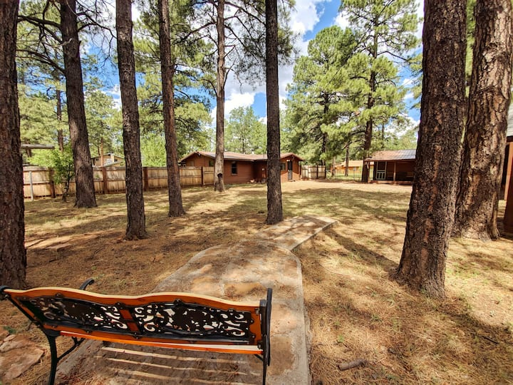 Moonridge Cabin Getaway with Casita - Lakeside!