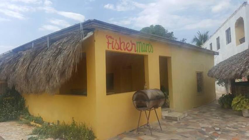Fisherman's Bar Jamaica Joy Treasure Beach - Treasure Beach - Hostel