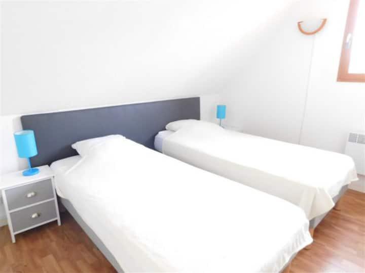 Maison confort - wifi - parking  - 500m plage