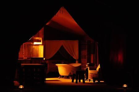 Luxury safari tents in Burgundy! - Colméry