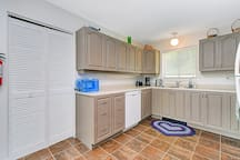 This kitchen will allow you to prepare great meals saving the expense of eating out.