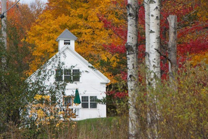 Stay in a Renovated 1900s era Vermont Schoolhouse