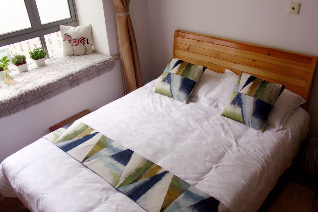 舒适的卧床