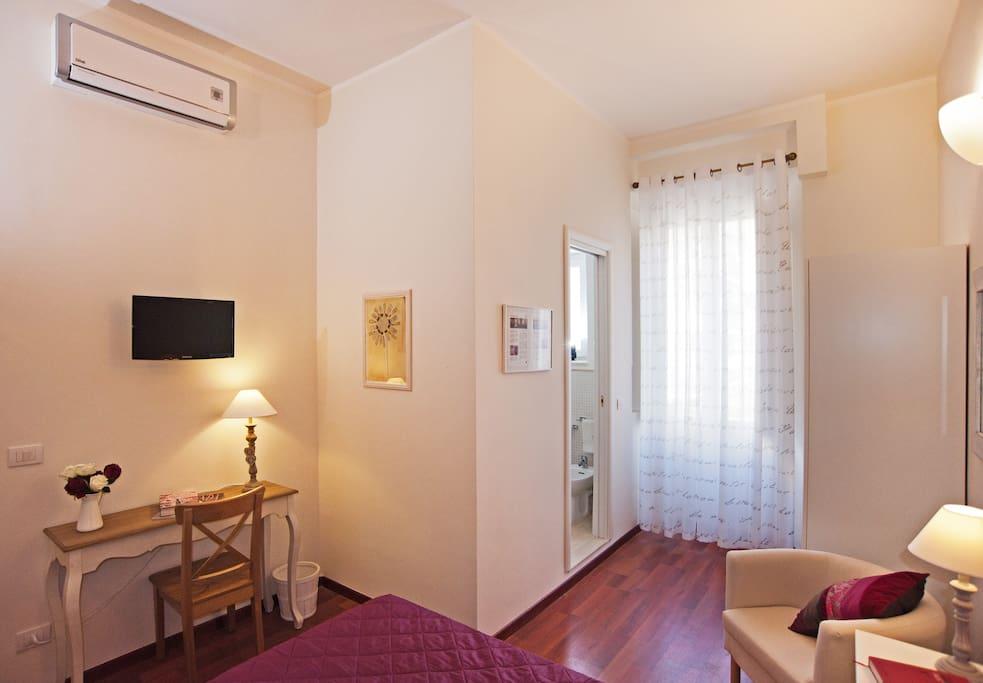 Aria condizionata e TV flat