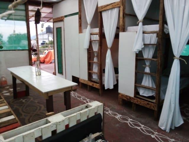 Mandalas camping-hostal Tepoztlan