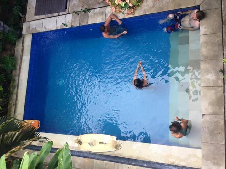 Canggu Surf Hostel Room 3