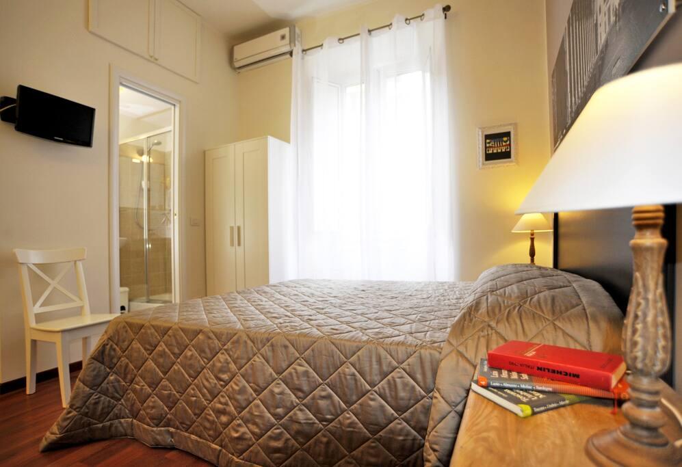 La stanza con bagno interno privato