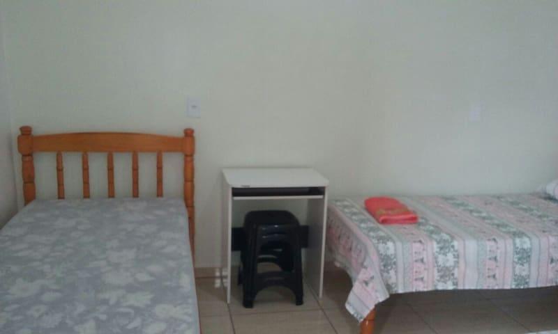 Opção com 3 camas no quarto