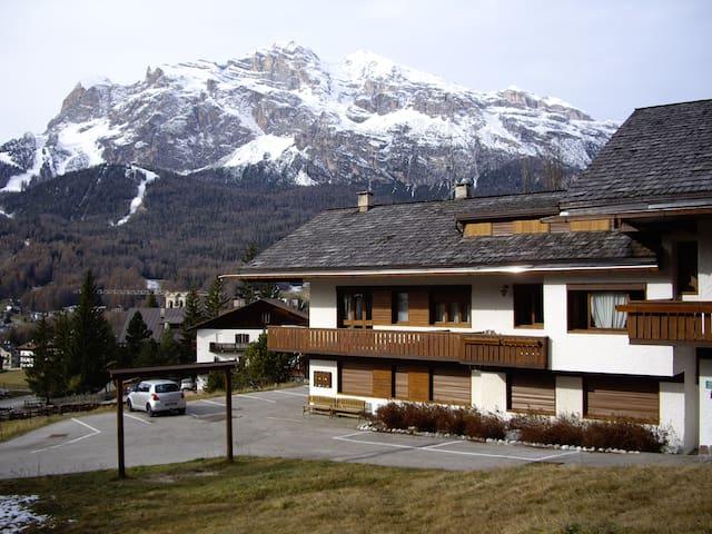 Cortina come a casa in confortevole appartamento - Cortina - Apartment