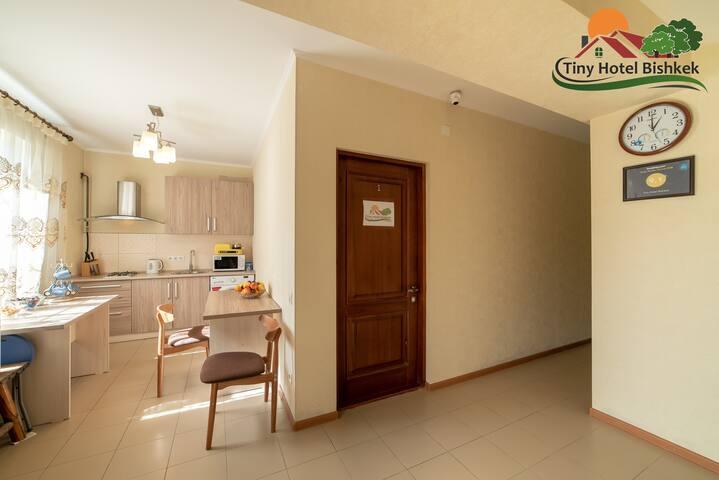 Single Room #1 in Tiny Hotel Bishkek