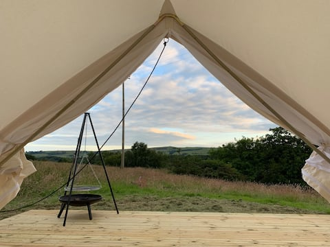 The nomadic shepard's bell tent