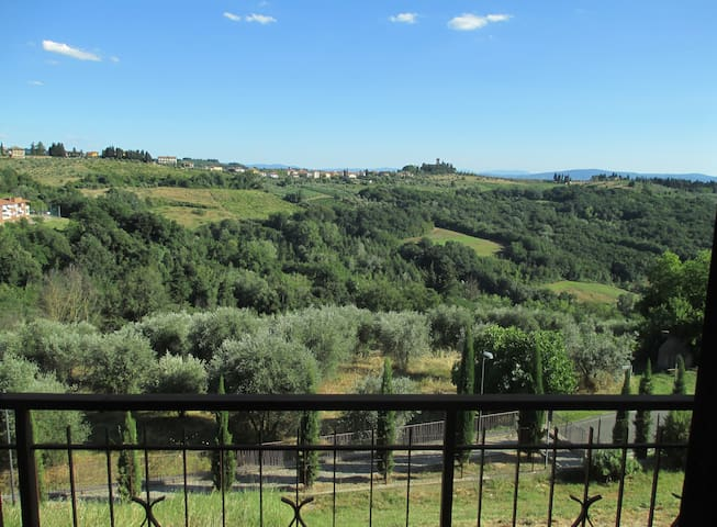 Cozy apartment in Tuscany country - Montespertoli - Apartament