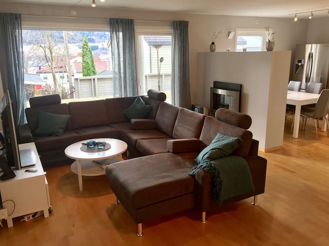 Comfy apartment in central Lillehammer - Lillehammer - Apartamento